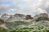 Beautiful panorama of the Dolomites - Italy — 图库照片