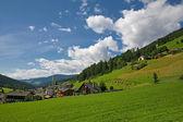 Sesto ( Sexten )- Val Pusteria - Dolomite Italy — Stok fotoğraf
