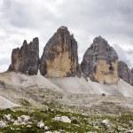 """Tre Cime di Lavaredo 3"""" Drei Zinnen """" - Dolomite - Italy — Stock Photo #14182347"""