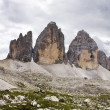 Tre Cime di Lavaredo 3&amp;quot; Drei Zinnen &amp;quot; - Dolomite - Italy - Stock Photo