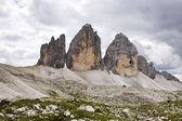 """Tre Cime di Lavaredo 3"""" Drei Zinnen """" - Dolomite - Italy — Stock Photo"""