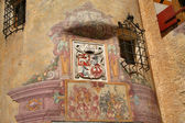 Brunico Castle. Brunico in South Tyrol - Detail — Stock Photo
