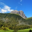 Beautiful panorama of the Dolomites - Sexten, Italy — Stock Photo