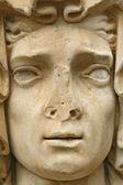 Déesse de l'abondance de détails. art roman - viterbo, italie — Photo