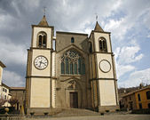 Church of San Martino al Cimino. Lazio. Italy. — Foto de Stock