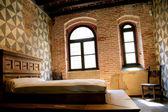 Dettaglio camera da letto di Giulietta - Verona, Italy — Stock Photo