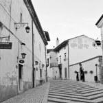 Abruzzo, Italy: medieval town - Pescasseroli - Aquila, Italy — Stock Photo #14350769