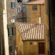 Stock Photo: Medieval street in Italian