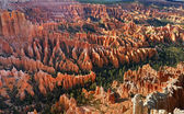 Inspiration Point at sunrise, Bryce Canyon National Park, Utah, — Stock Photo
