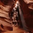 Antelope colorful Patterns of Navajo Sandstone from Slot Canyons — Stock Photo