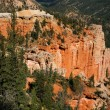 Stock Photo: A Beautiful view of Bryce Canyon