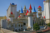 Las Vegas, Nevada - 04 SEPTEMBER 2012: Excalibur Hotel and Casin — Stock Photo