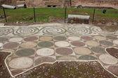 Terme di Caracalla - floor detail — Stock Photo