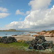 Beach at Fionnphort, Isle of Mull, Scotland, UK — Stock Photo