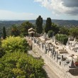 St. Paul de Vence cemetery, France — Stock Photo