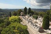 St. paul de vence begraafplaats, Frankrijk — Stockfoto