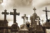 圣保禄德旺斯公墓法国 — 图库照片