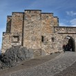 Medieval buildings in Edinburgh castle, Scotland, UK — Stock Photo
