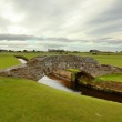 The famous Swilcan bridge on St Andrew Old Course — Stock Photo #38437327