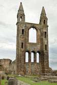 Ruin of St Andrews Cathedral in St Andrews Scotland — Stock Photo