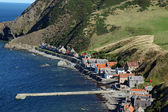 Pennan, Aberdeenshire - Scotland, UK — Stock Photo
