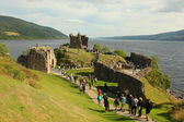 Urquhart Castle beside Loch Ness in Scotland, UK. — Stock Photo