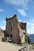 Urquhart Castle beside Loch Ness in Scotland, UK. — Stock Photo