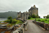 Most famous castle in Scotland. The Highlander location — Stock Photo
