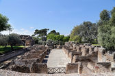 Ancient ruins of Hadrian's Villa (Villa Adriana in Italian) — Stockfoto