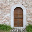 An image of an old door in Altino, Ascoli Piceno - Italy — Stock Photo #48243615