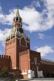 Torre spasskaya — Fotografia Stock