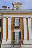 Cuneo 旧楼 — 图库照片