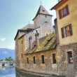 Annecy downtown — Stock Photo
