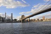 γέφυρα του μπρούκλιν — Φωτογραφία Αρχείου