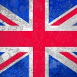 Union Jack or United Kingdom or British or England flag — Stock Photo