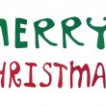 Merry Christmas words — Stock Photo #12790557