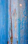 Color paint splatters on zinc grunge steel wall — Stock Photo