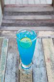 Blue cocktails — Stock Photo