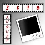 2013 Calendar August — Stock Photo #27139297