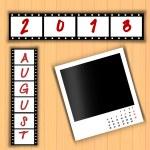 2013 Calendar August — Stock Photo #27139335