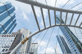 Bangkok Chong Nonsi skywalk — Stock Photo