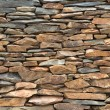 Slate stone wall — Stock Photo