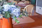 Little flowers decor — Stock Photo