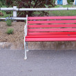 Red bench — Stock Photo #28466061