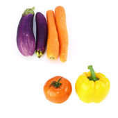 Color of vegetable,healthy concept — Stock Photo