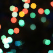 Multicolored defocused bokeh lights background — Stock Photo #35736847