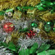 Christmas ornaments decoration useful for background — Stock Photo