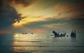 Longtail boat — Stock Photo