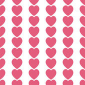 Red hearts pattern — Stock Photo