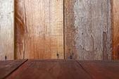 Wooden grunge texured background — Stok fotoğraf